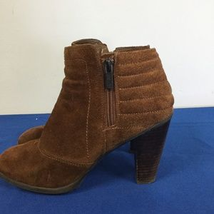 Kenneth Cole Reaction Shoes - Kenneth Cole Reaction brown suede ankle boot